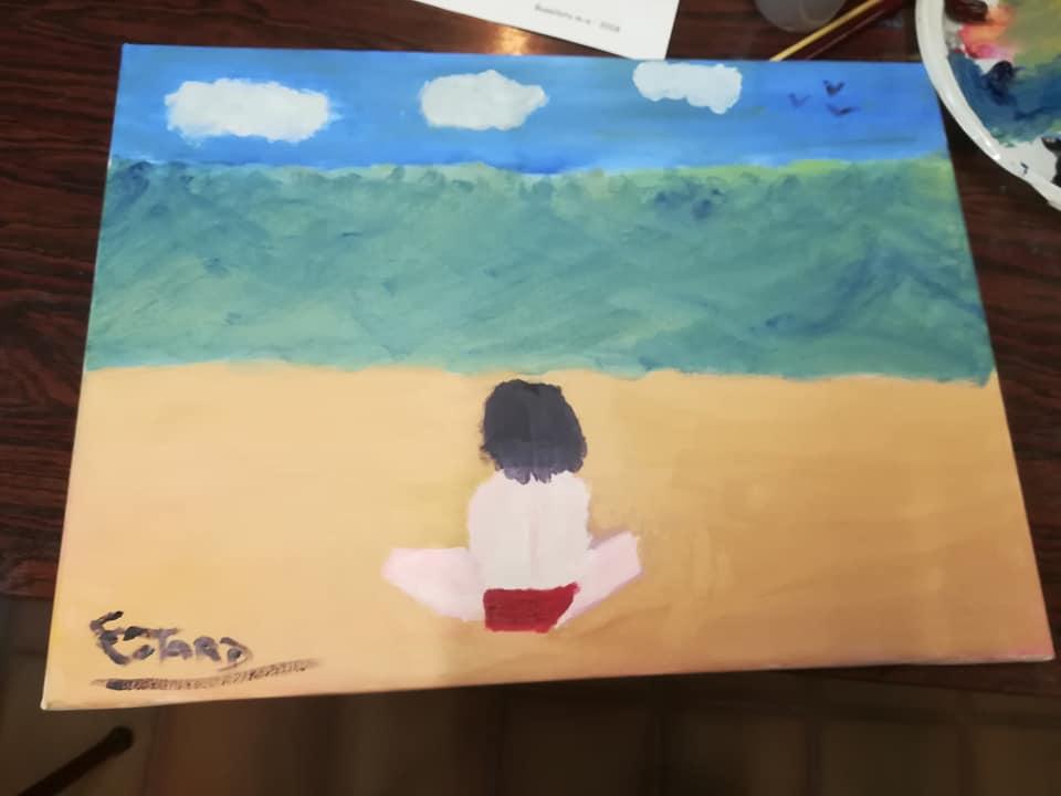 Initiation à la peinture...