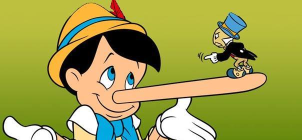 Pinocchio mensonge visage trahit 604